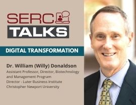 """SERC TALKS: """"What Does Digital Transformation Look Like from the C-Suite?"""""""